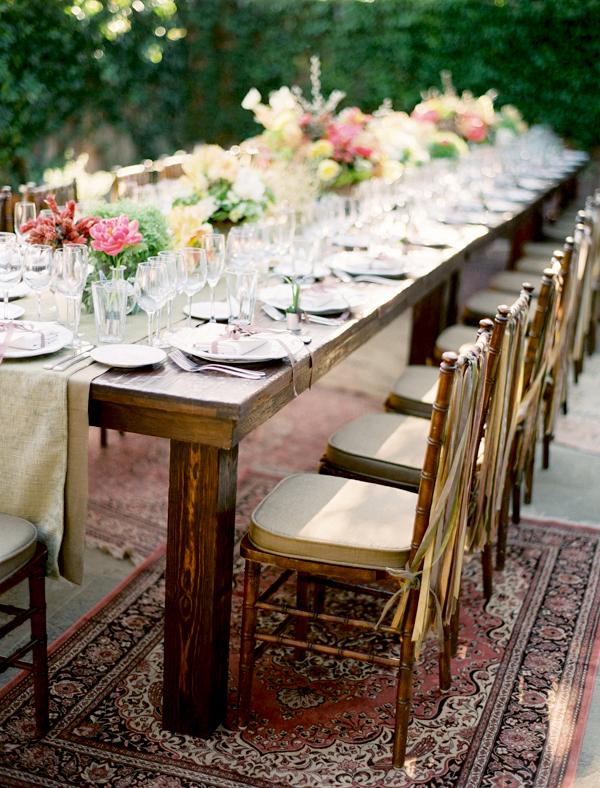 Rustic Wedding Tablescape Elizabeth Anne Designs The