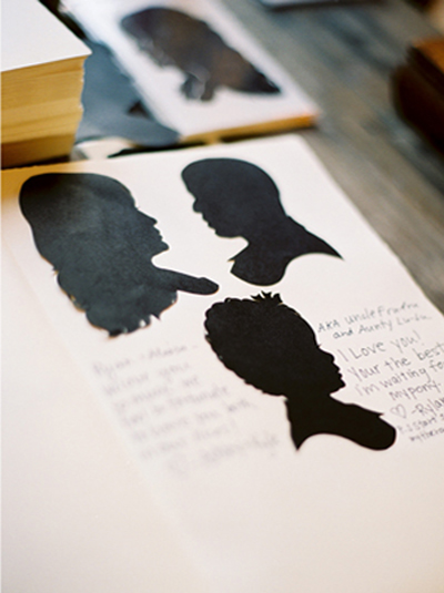silhouette-drawing-guest-book-wedding