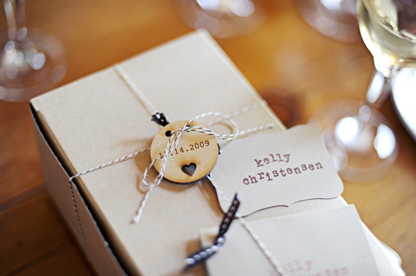 Smores Wedding Favors Placecard Tags