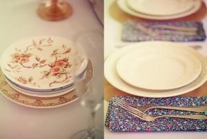 Vintage China Wedding Reception