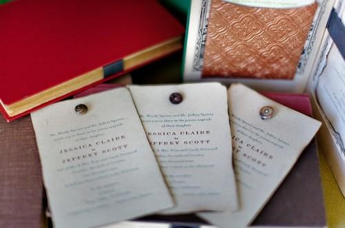 vintage-letterpress-wedding-invitation