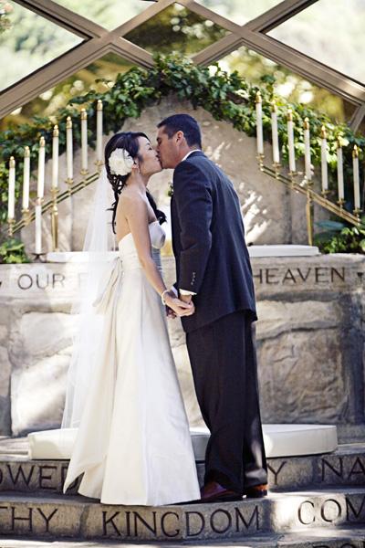 Wayfarers Chapel Wedding Ceremony