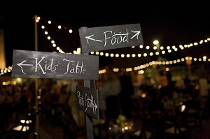 wedding-direction-sign