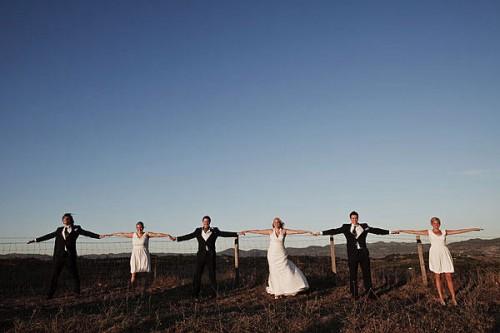 white-bridesmaids-dresses