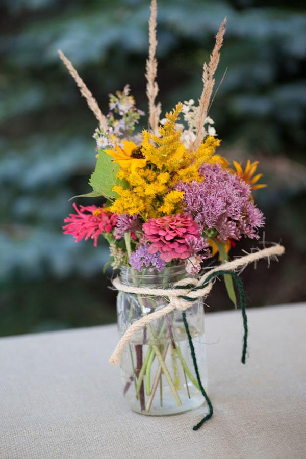 Pink Wildflower Bouquet
