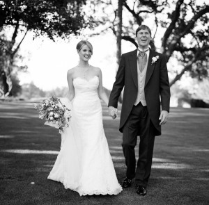 Black and White Wedding Portraits - Copyright A Bryan Photo - No unauthorized use without written permission