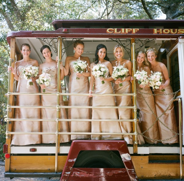 Bridesmaids Cable Car - Copyright A Bryan Photo - No unauthorized use without written permission