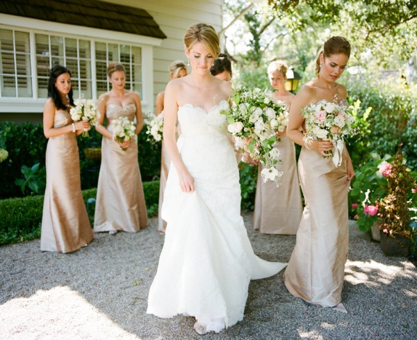 Champagne Bridesmaids - Copyright A Bryan Photo - No unauthorized use without written permission