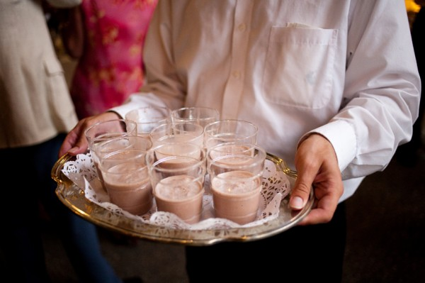 Chocolate Milkshakes Reception - Copyright A Bryan Photo - No unauthorized use without written permission