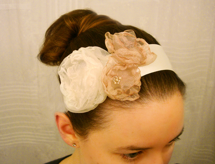 diy-organza-headband-tutorial-wedding-ideas - Elizabeth Anne Designs: The Wedding Blog