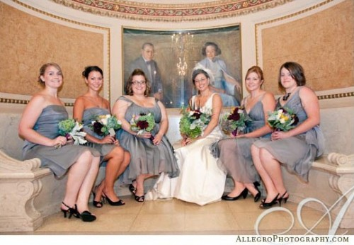 gray-bridesmaids-dresses