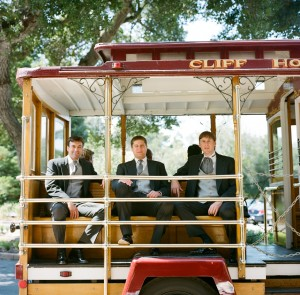 Groomsmen Cable Car - Copyright A Bryan Photo - No unauthorized use without written permission