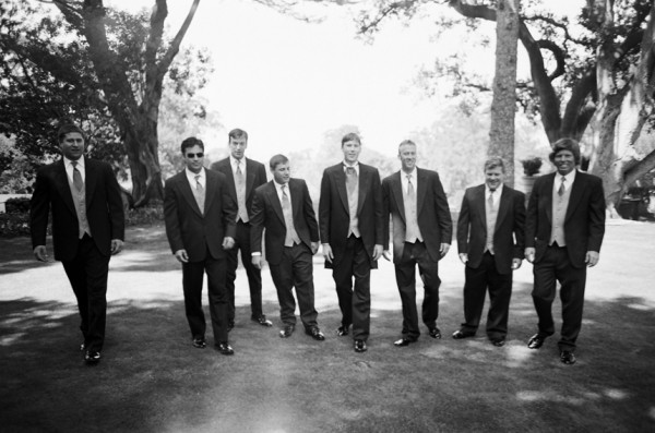 Groomsmen Classic Wedding - Copyright A Bryan Photo - No unauthorized use without written permission