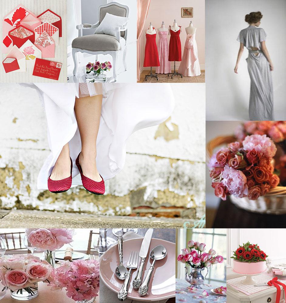 Pretty Pink and Red - Elizabeth Anne Designs: The Wedding Blog
