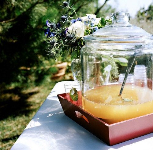 punch-in-glass-container