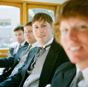 Wedding Party Cable Car - Copyright A Bryan Photo - No unauthorized use without written permission