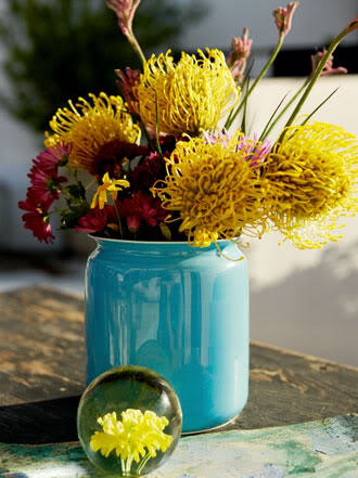 Blue Vases Elizabeth Anne Designs The Wedding Blog
