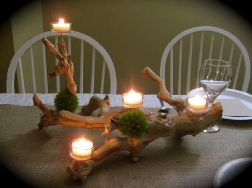 grapewood candelabra centerpiece wedding ideas