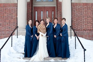 navy-bridesmaids-winter-wedding