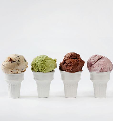 porcelain-ice-cream-cones