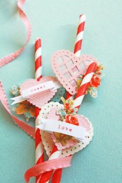 valentines-day-crafts-embellished-straws