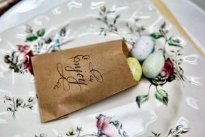 Cadbury Mini Eggs in Kraft Paper Bag