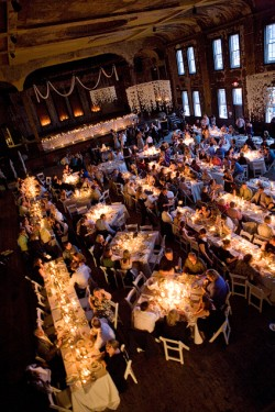 Estate Tables in Large Ballroom