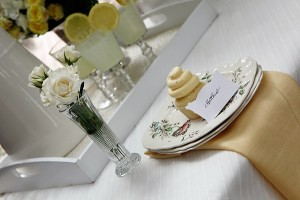 Place Setting with Vintage China