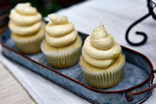 Yellow Cupcakes For Easter Party