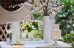 Yellow and White Easter Party Inspiration