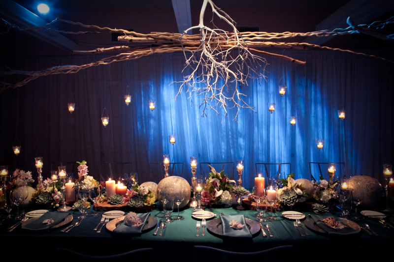 Modern Ocean Theme Wedding Centerpiece Elizabeth Anne