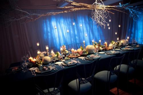 modern ocean themed tablescape elizabeth anne designs the wedding