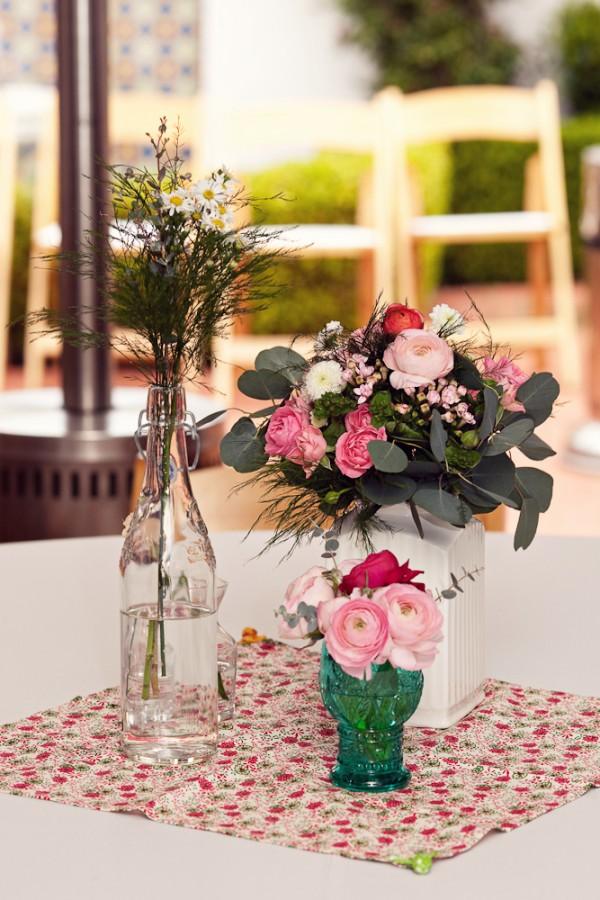 Pink And White Wedding Centerpiece Ideas Elizabeth Anne Designs