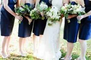 strapless-navy-bridesmaids-dresses