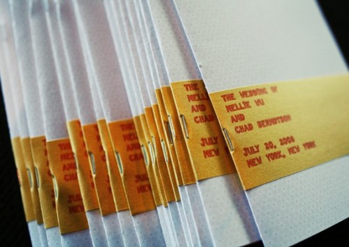 yellow-orange-wedding-programs-typewriter-theme