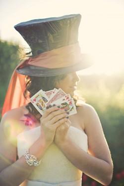Alice in Wonderland Wedding Party Ideas-16