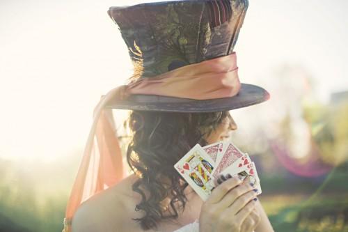 Alice in Wonderland Wedding Party Ideas-17