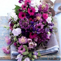 Bouquet in All Shades of Purple