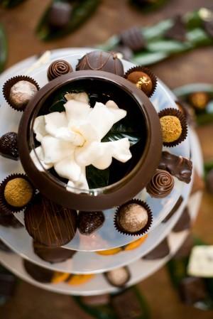 Chocolate Display Wedding Desserts