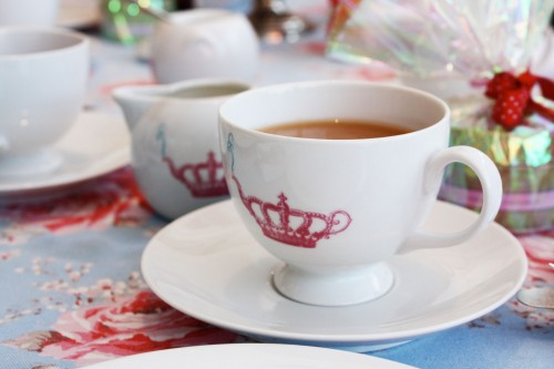 Chocolate Mint Tea Bridal Shower