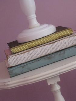 Covered Decorative Books