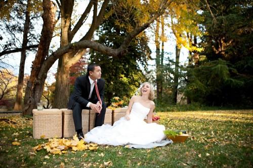 DC Fall Wedding Photos