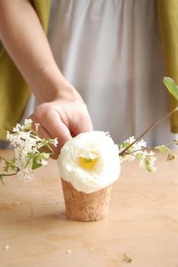 DIY Lilac Narssicus Jasmine Wedding Flowers