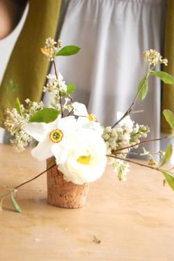 DIY Spring Wedding Centerpiece