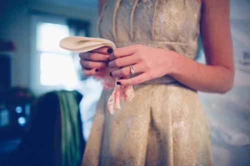 Gold Vintage Bridesmaids Dress