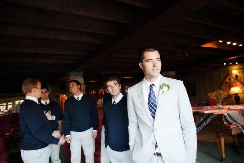 Groom Waiting for Wedding Ceremony