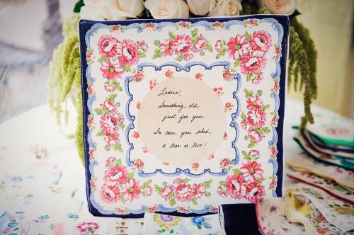 Handkerchief Wedding Favors