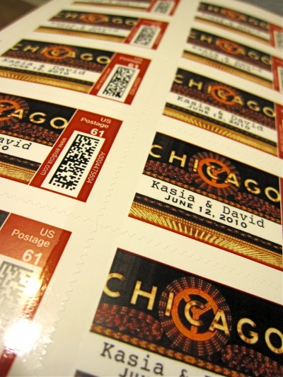 custom chicago stamps