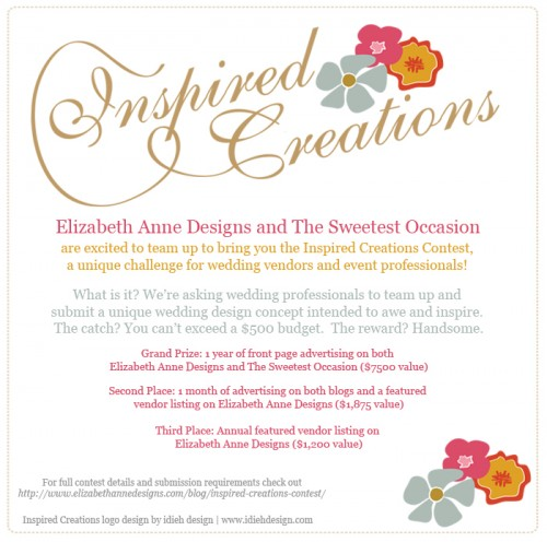 Inspired Creations Contest Flier