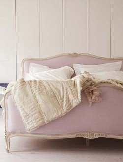 Lavender and Gold Bedroom